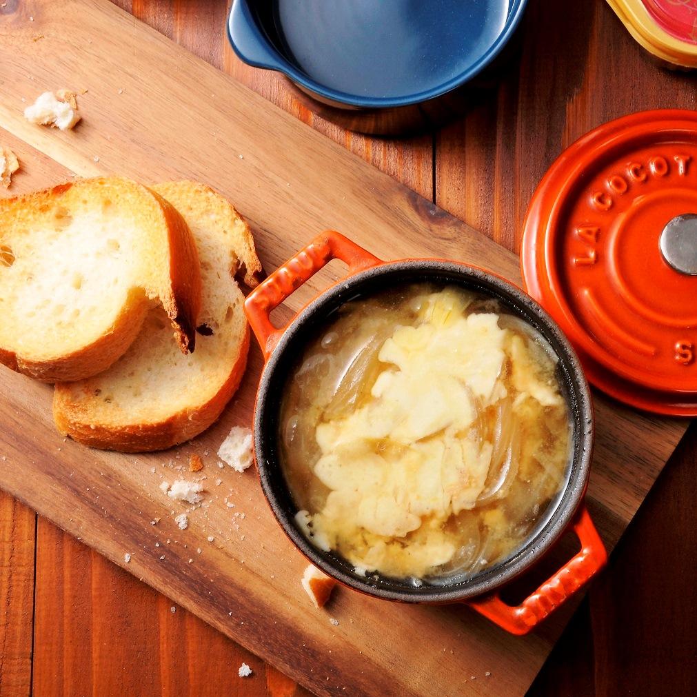 オニオンチーズの味噌スープ