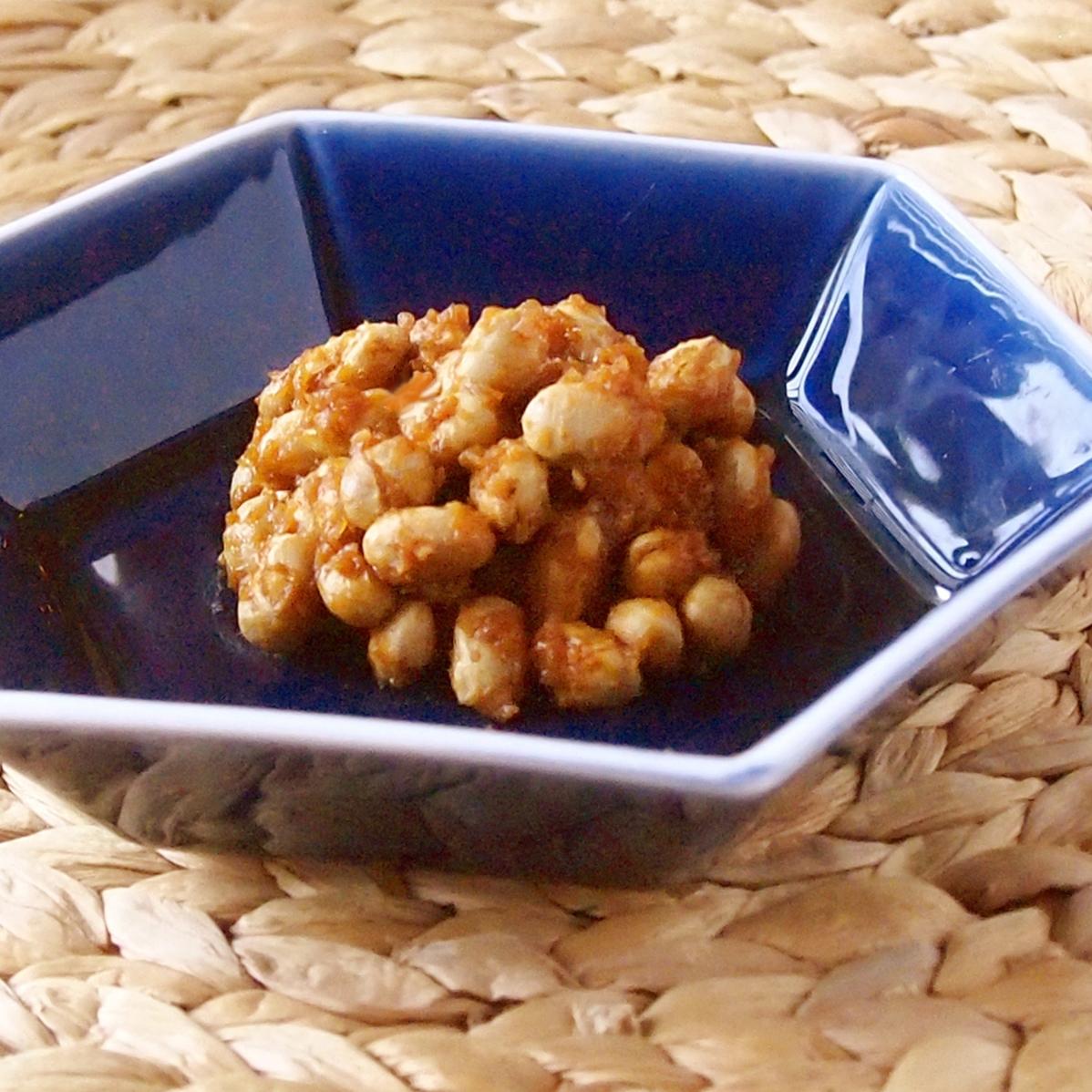味噌煎り豆