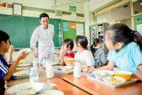 和食料理人が給食献立を考案!食育セミナーを開催