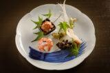 発酵と熟成がテーマの日本料理レストラン GINZA 豉 KUKI 5月は、ディナーの人気コース「極」をランチタイムで提供。ノンアルコールドリンク付き「時短会席コース」が期間限定で登場!