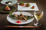 発酵と熟成がテーマの日本料理レストラン GINZA 豉 KUKI 6月コースのご案内  天竜川産鮎の二色田楽、塩麹熟成牛タンステーキなど全12品