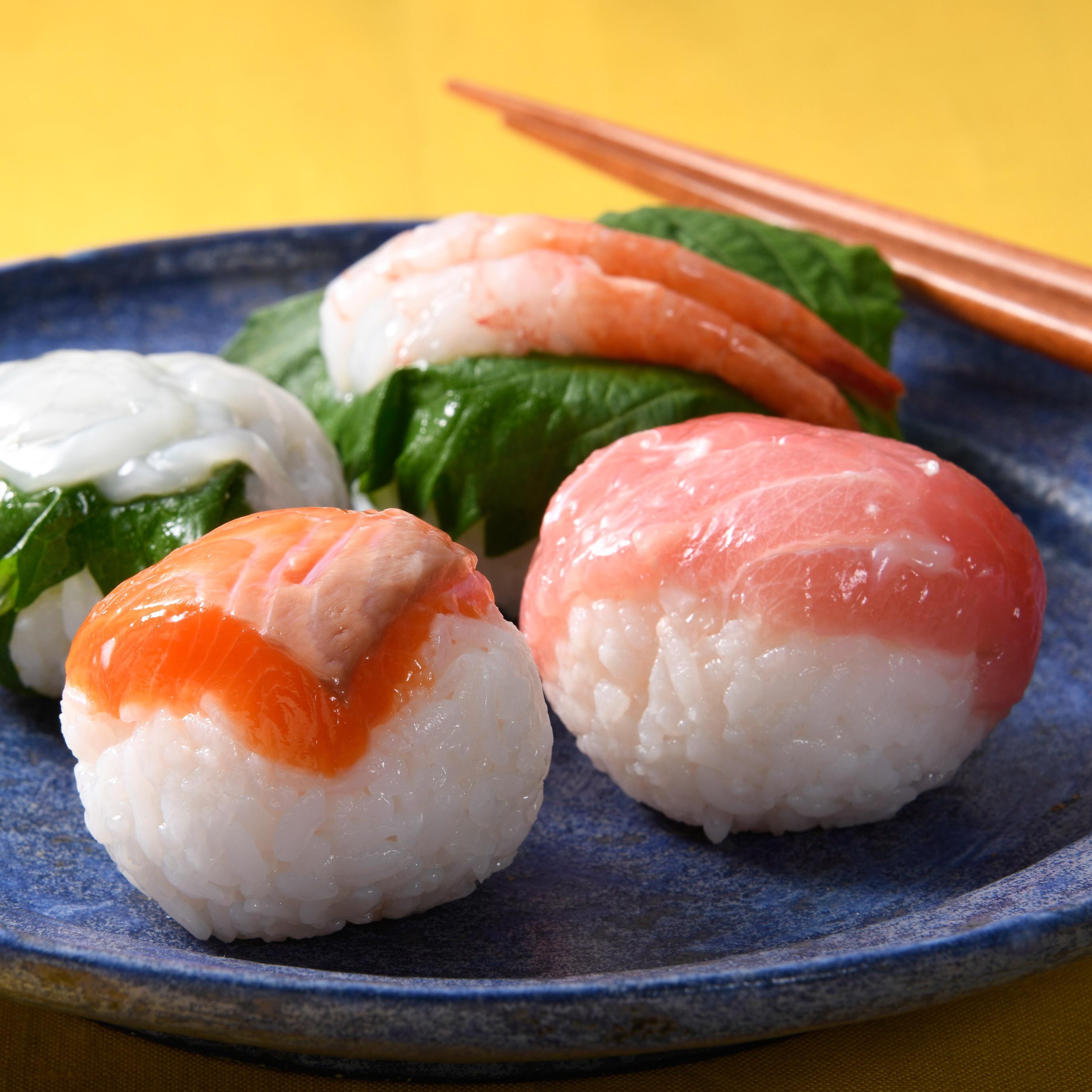 塩こうじの手まり寿司