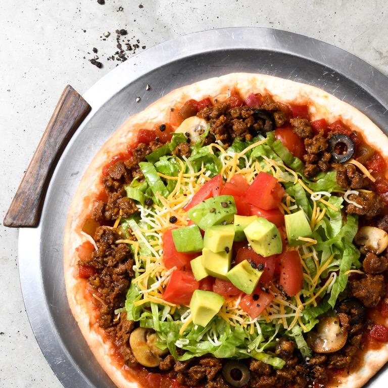 ベジタリアンメキシカンピザ