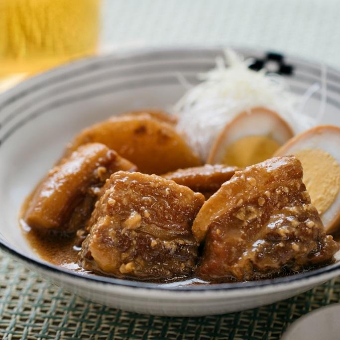 炊飯器でつくる黒酢味噌角煮