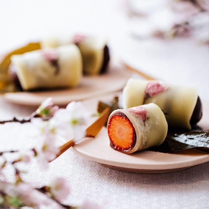 桜餅クレープ