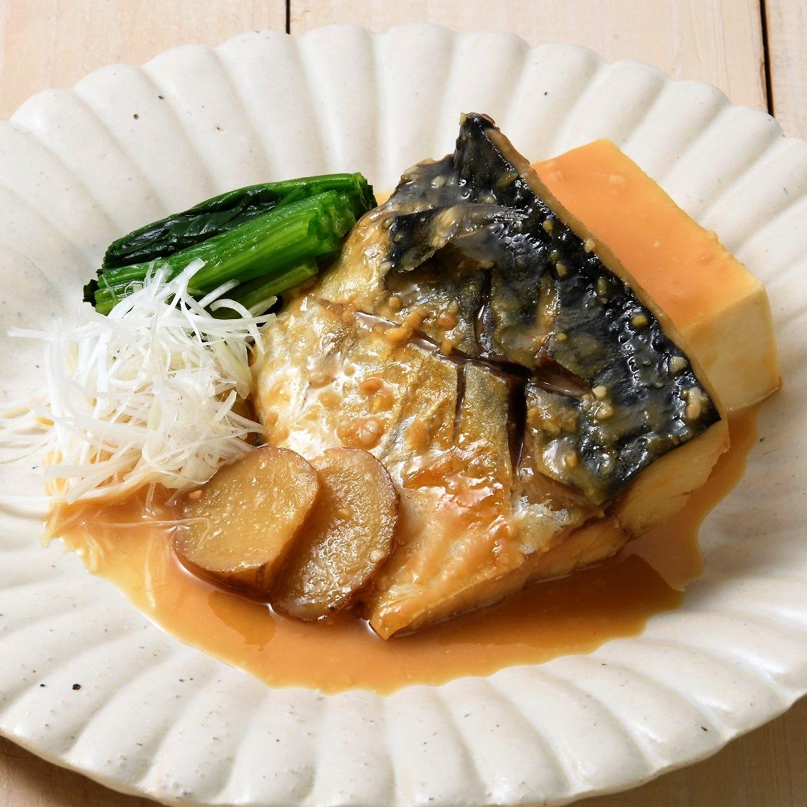 干物でつくるサバの味噌煮