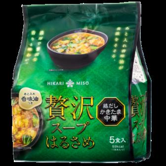 贅沢スープはるさめ 鶏だしかきたま中華 5食