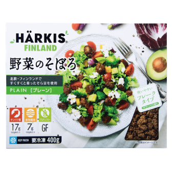 HÄRKIS®FINLAND 野菜のそぼろ プレーン 400g