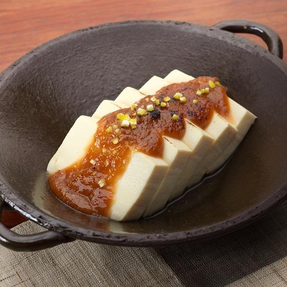 湯豆腐の味噌田楽