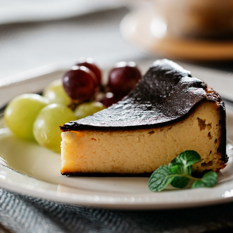 味噌バスクチーズケーキ