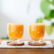 にんじんとオレンジの甘酒スムージー