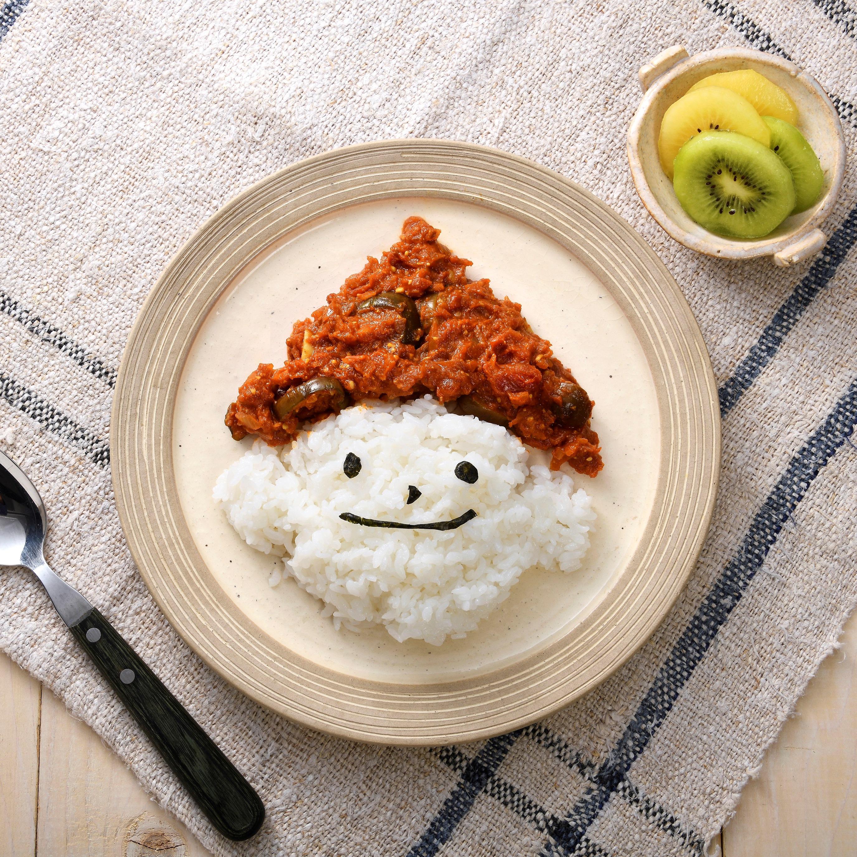 トマト味噌カレー