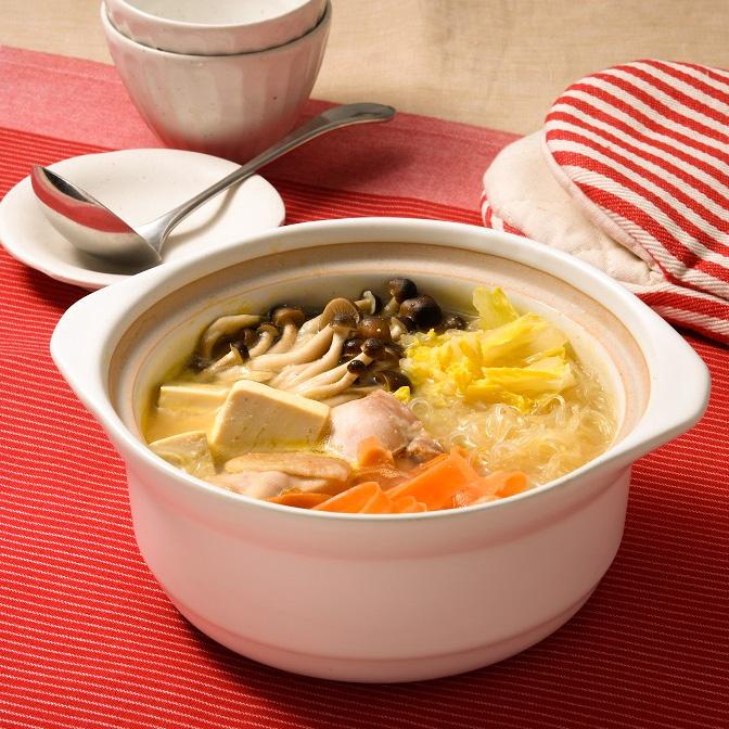 野菜たっぷり味噌発酵鍋