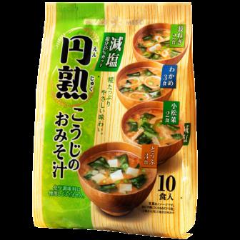 円熟こうじのおみそ汁 減塩 10食
