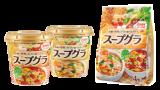 種類豊富な穀物と野菜を使った、食物繊維たっぷりのスープ、<br>「スープグラ」を新発売~ 手軽さで食事のバランス改善を後押し ~