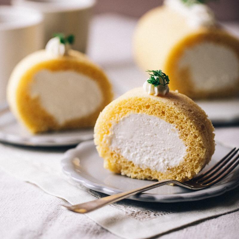 甘酒ロールケーキ