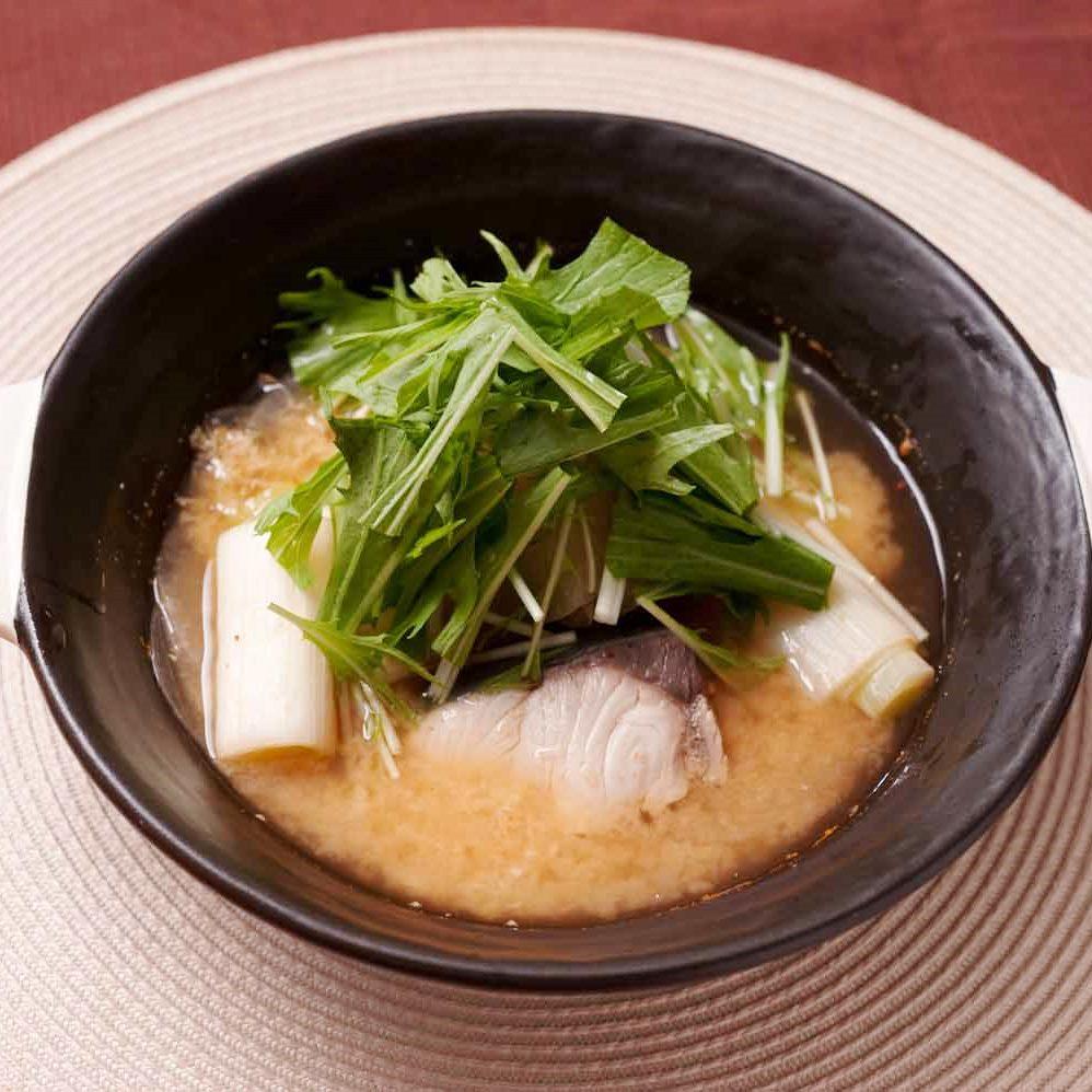 ブリと大根のあったか味噌しょうが発酵鍋