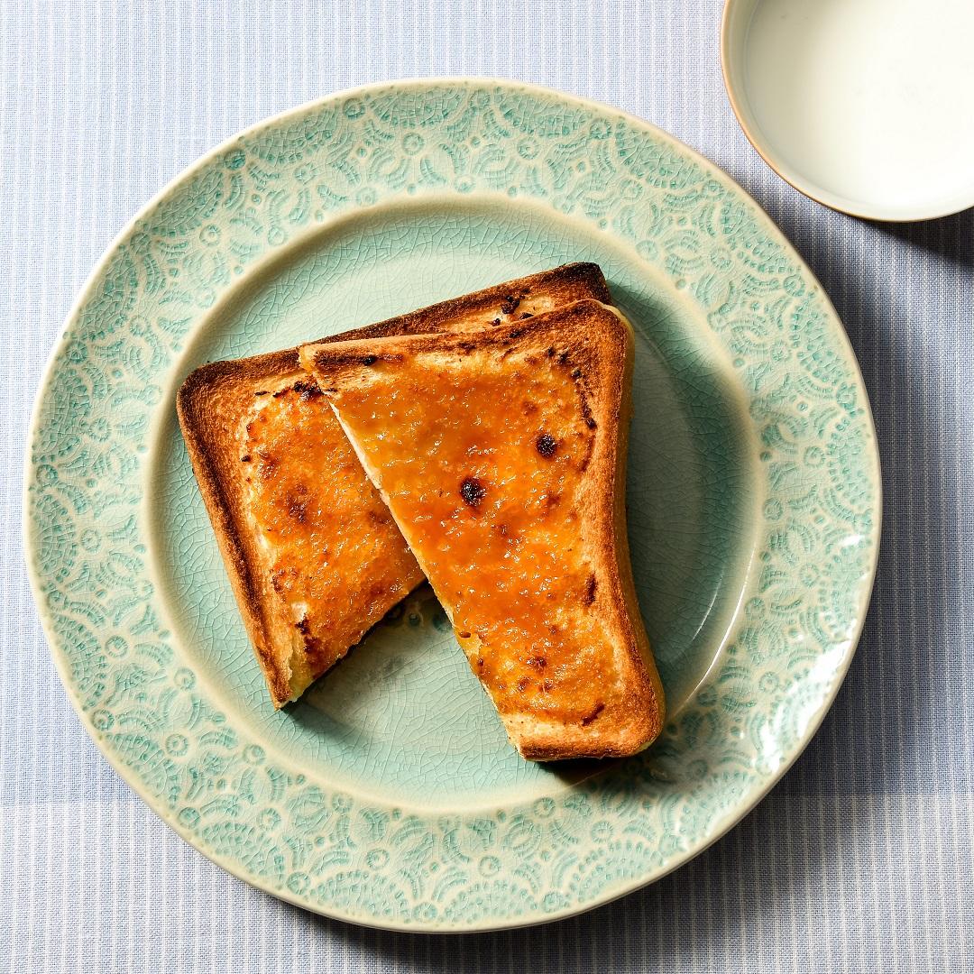 はちみつ味噌バタートースト