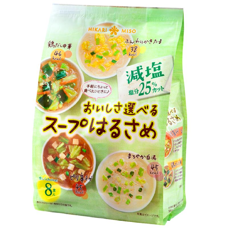 おいしさ選べるスープはるさめ 減塩 8食