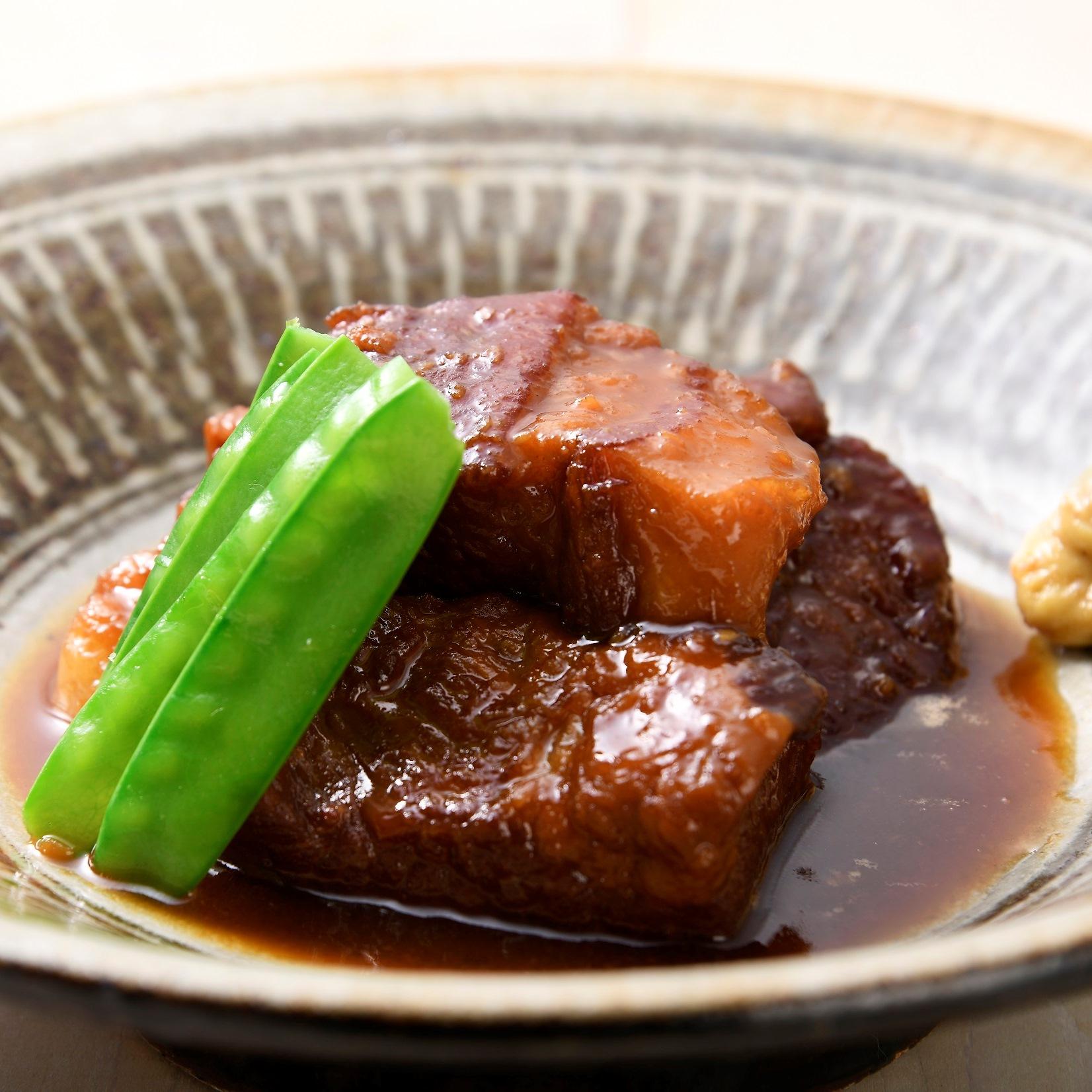 豚バラ肉の味噌煮込み