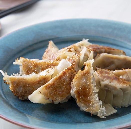 セロリ入り味噌餃子