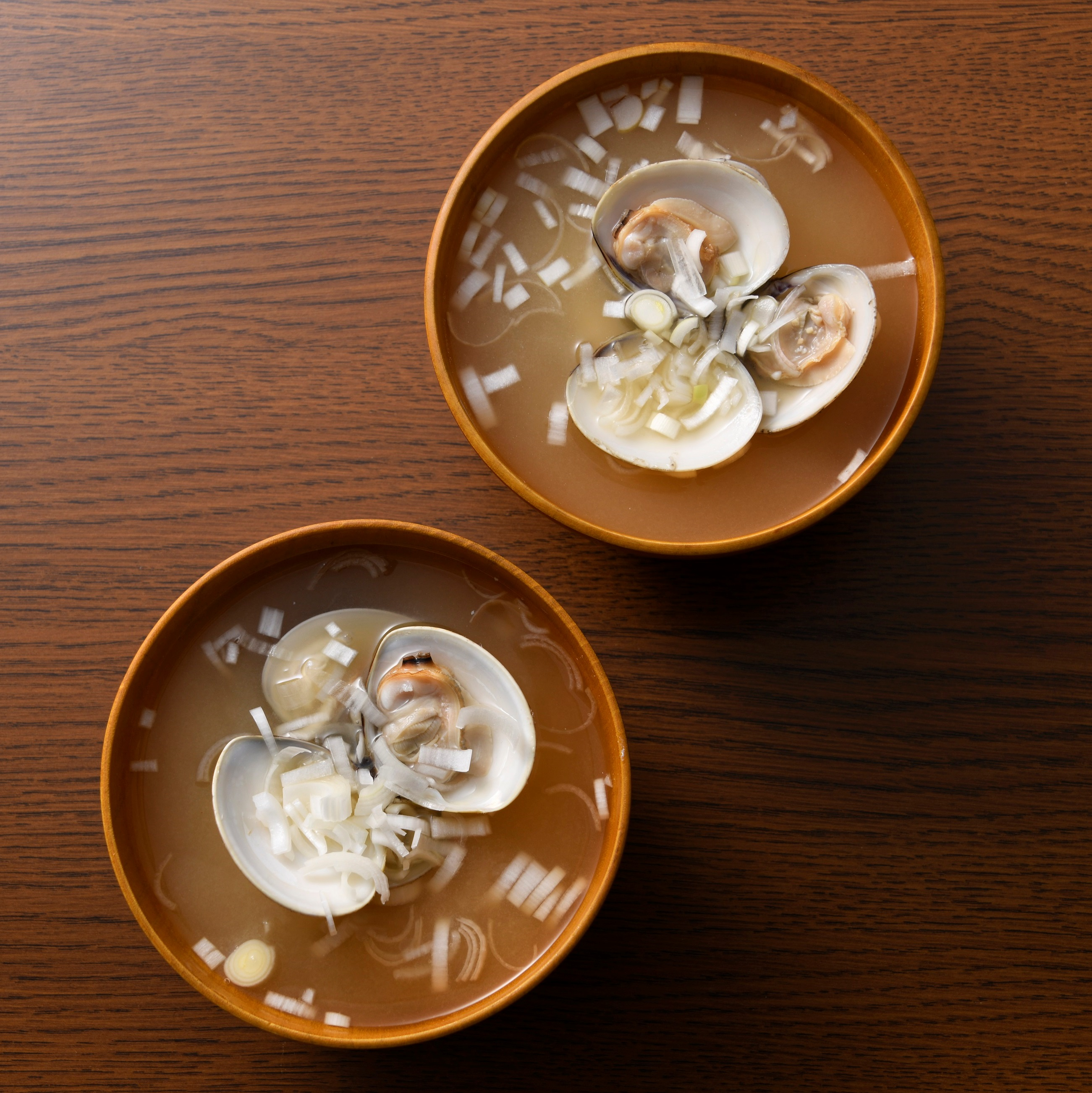ハマグリの味噌汁