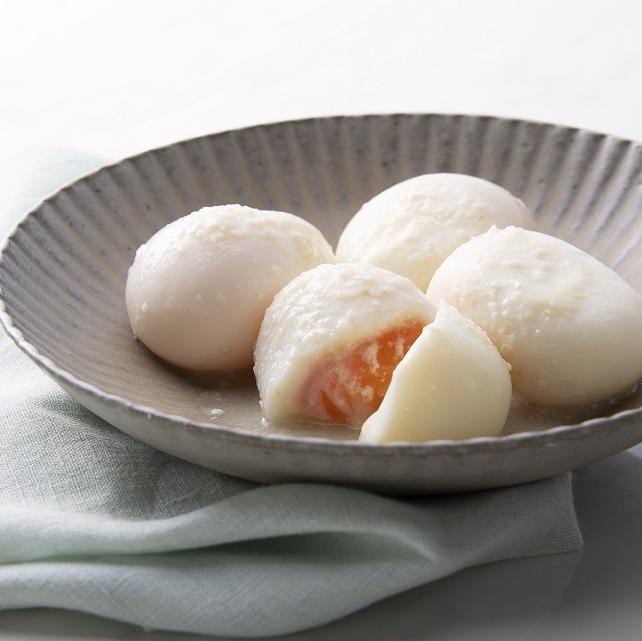 塩こうじ漬け 2種の味玉