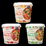 フィンランド生まれの新しい植物性たんぱく質「オーツミート」をつかった<br> 「オーツミートと野菜のスープ」を発売